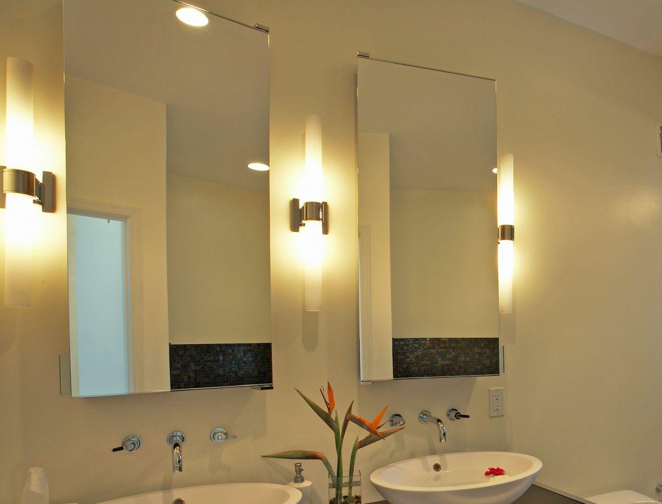یک نمونه نورپردازی صحیح آیینه