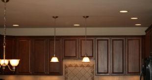 نمونه روشنایی بالای کابینت