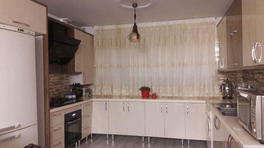 کابینت آشپزخانه بدون نورپردازی