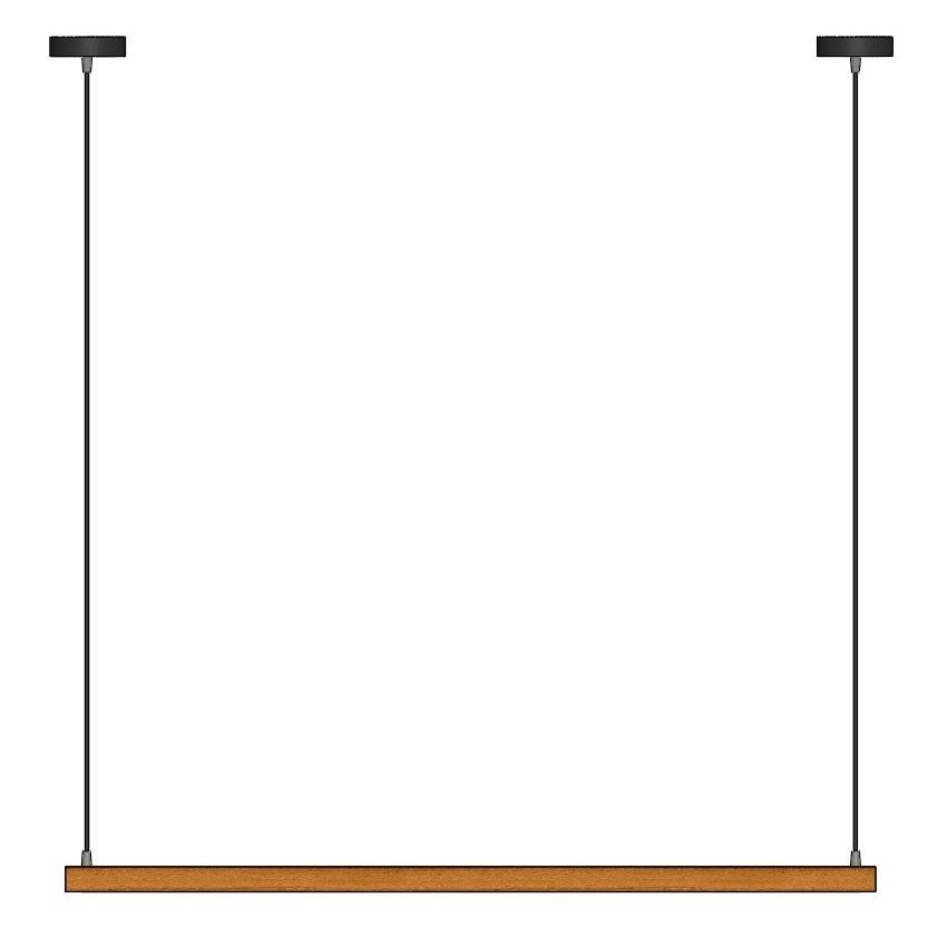 چراغ آویز چوبی 3