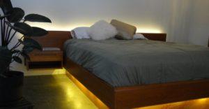 کاربرد در روشنایی زیر تخت خواب